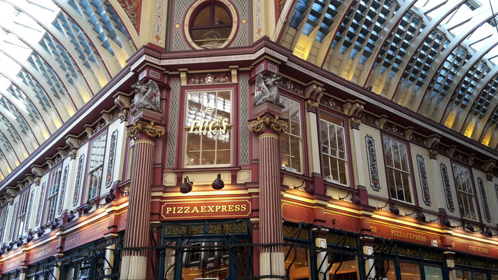 Leadenhall Market bzw. Winkelgasse, Harry Potter Drehorte London