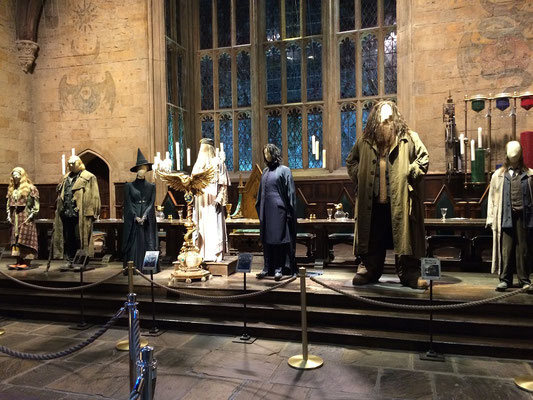 Harry Potter Studio Tour, Hogwarts Professoren