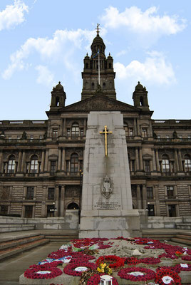 Glasgow Sehenswürdigkeiten Top 10 - George Square / City Chambers