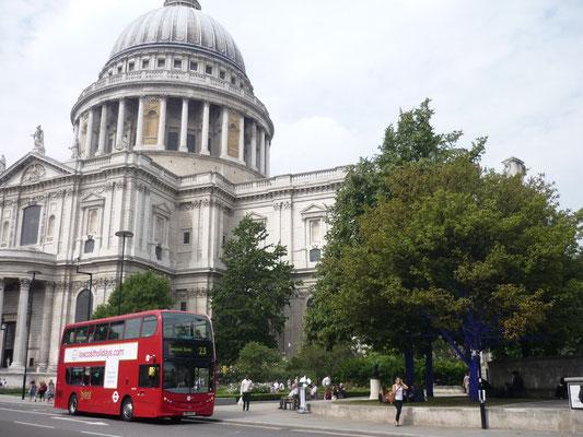 London in 3 Tagen - Sehenswürdigkeiten: St Pauls Kirche