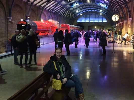 Harry Potter Studio Tour - Gleis 9 3/4