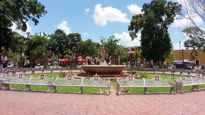 Yucatan Valladolid Stadtpark