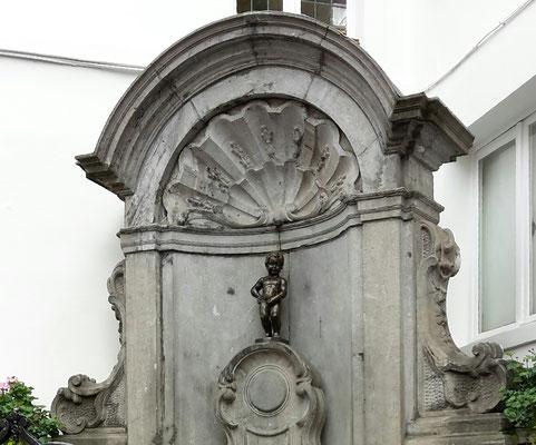 Manneken Pis, Brüssel