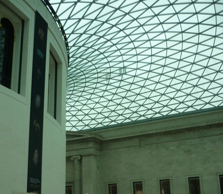 London bei Regen - British Museum