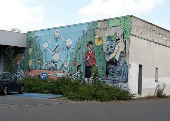 Avenue du Gros Tilleul / Brussels / Comic Route