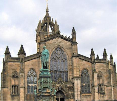 24 Stunden in Edinburgh - ein Stadtrundgang auf eigene Faust - St Giles Cathedral