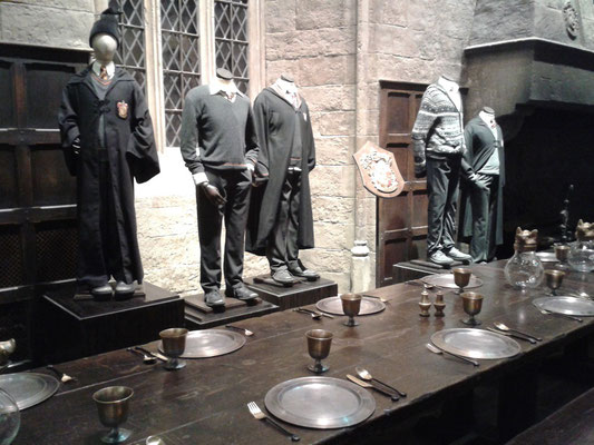 Harry Potter Studio Tour, Speise- und Festsaal Hogwarts
