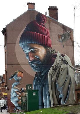 Glasgow Sehenswürdigkeiten Top 10 - Street Art Trail / High Street