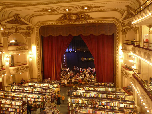 What to see and do in Buenos Aires - Library El Ateno