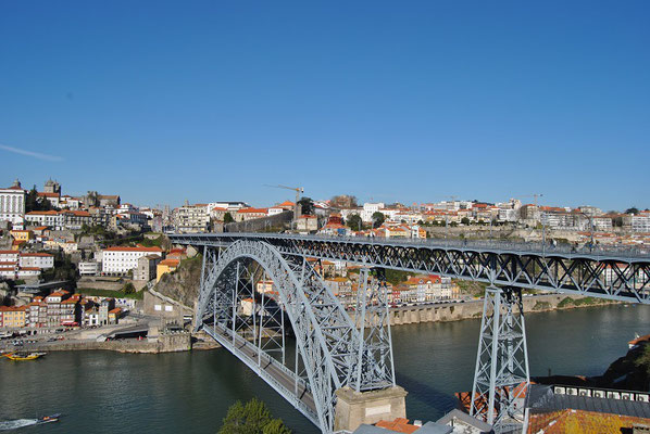 Porto Top 10 Tourist Attractions - Bridge Ponte Dom Luís I