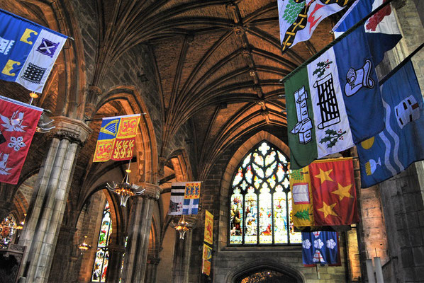 St Giles Cathedral / Harry Potter in Edinburgh / Hogwarts