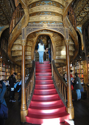 Harry Potter Buchhandlung Livraria Lello Porto