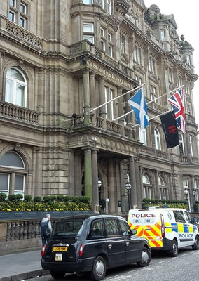 Balmoral Hotel Edinburgh / Harry Potter in Edinburgh / J.K. Rowling Suite