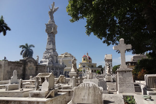 Reiseroute Kuba Mexiko Rundreise und baden - Cementerio de Colon Havana