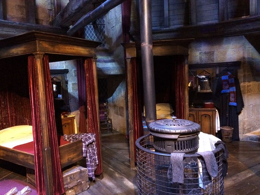 Harry Potter Studio Tour - Griffindor Schlafsaal