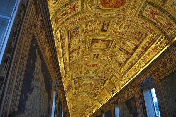 Fresken in den Vatikanischen Museen (Rom 3 Tage)