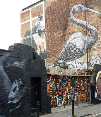 Spartipps London - Street Art (London günstig Tipps)