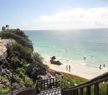 Reiseroute Kuba Mexiko Rundreise und baden - Tulum