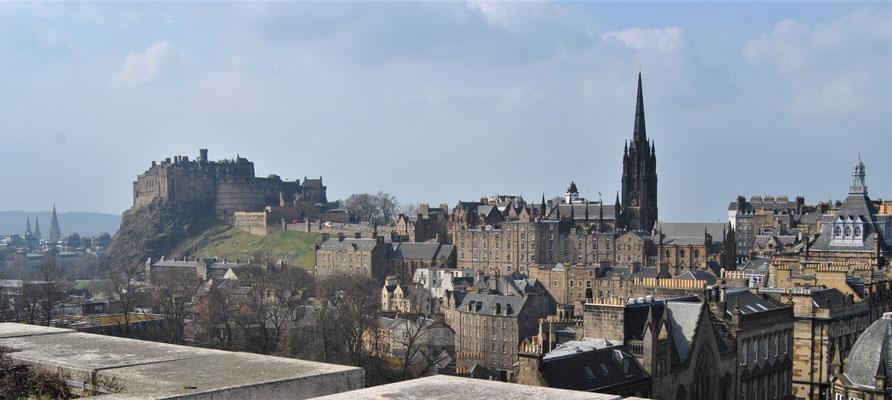 24 Stunden in Edinburgh - ein Stadtrundgang auf eigene Faust - Dachterrasse National Museum of Scotland