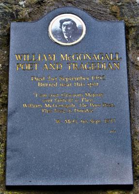 Friedhof Greyfriars Kirkyard in Edinburgh - McGonagalls Grab / Harry Potter