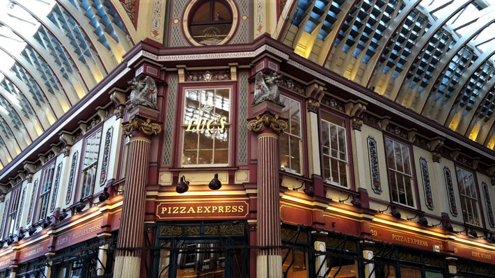Hidden Gems London - Leadenhall Market
