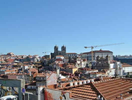 Porto Kirchen - Blick auf die Kathedrale Sé do Porto