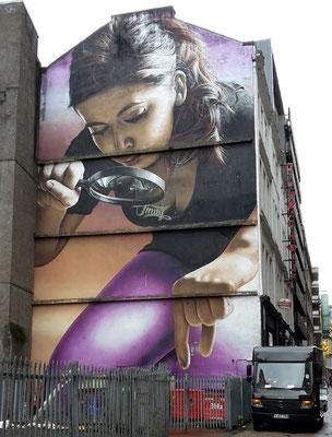 Glasgow Sehenswürdigkeiten Top 10 - Street Art Trail / Mitchell Street