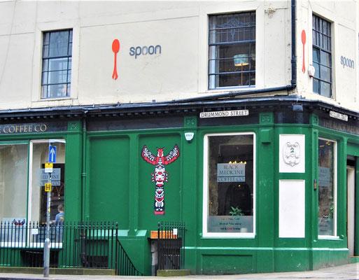 Spoon Café in Edinburgh / Harry Potter