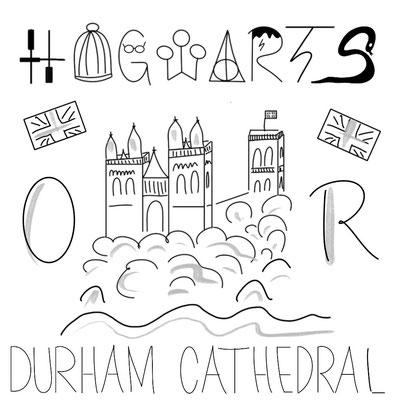 Mein Sketchnotes Reise ABC - D wie Durham