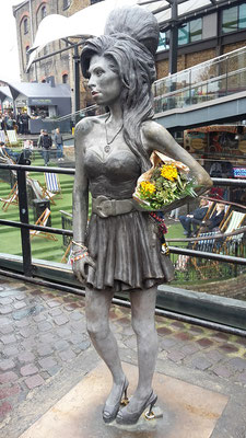 London Wochenende Tipps: Amy Winehouse Statue, Camden Market