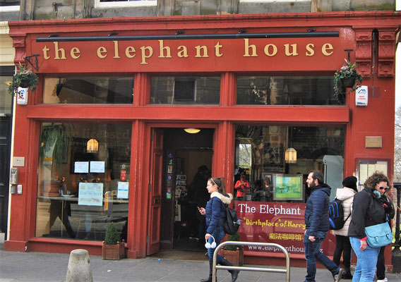 Elephant House in Edinburgh / der Geburtsort von Harry Potter