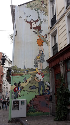 Oliver & Columbine, Comic Route, Brüssel
