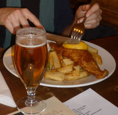 100 Dinge, die man in London machen kann - Fish and Chips