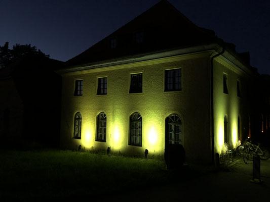 Die Mühle bei Nacht