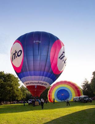Moers, ENNI Ballonfestival, Ballon PINTO, Wupperballon