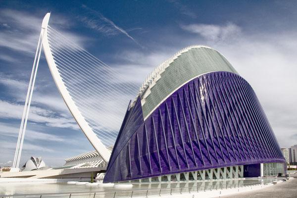 Kunst- und Wissenschaftspark, Valencia, Spanien