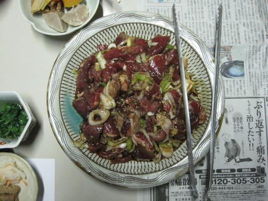 猪肉の石板焼き