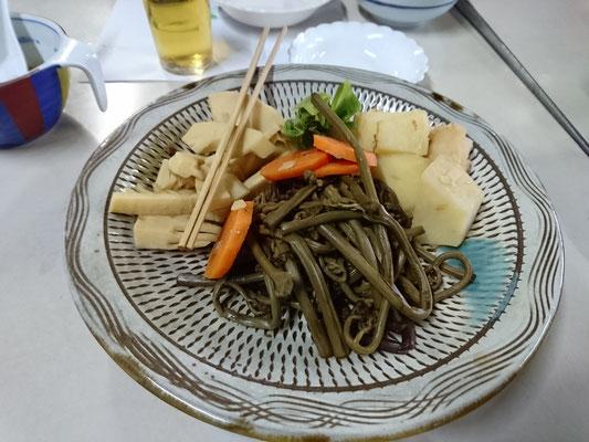 山菜の煮物