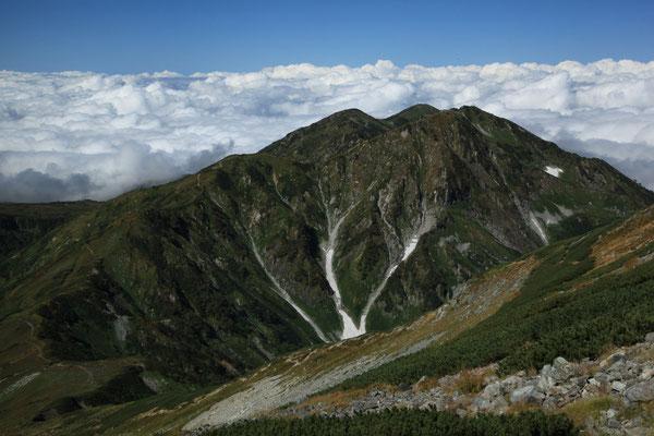 大日岳(別山乗越より)