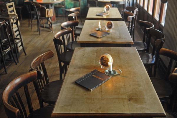 Cafe Seeblick Gastraum vorne