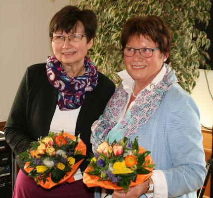 """Danke an Annette Ebmeyer und ( leider nicht anwesend, Silke Drögemüller ) für den tollen Einsatz beim Projekt """" Transparenz schaffen """""""