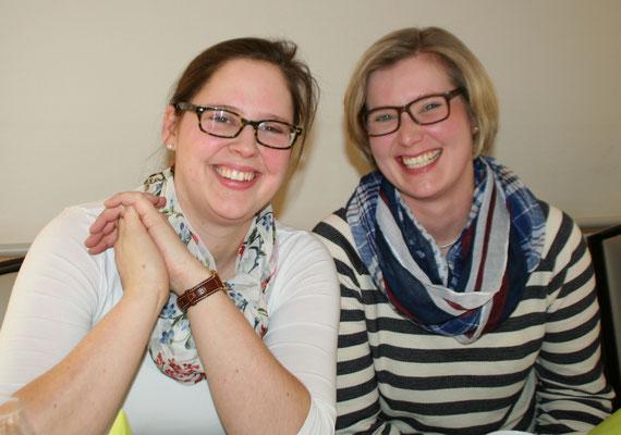 Junge LandFrauen: Claudia Lichthardt und Uta Rantze