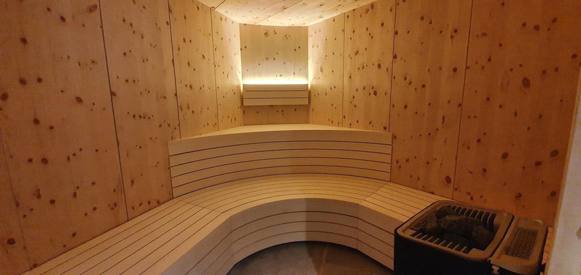 Kiefer Sauna