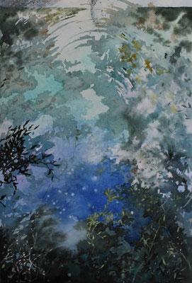 Cielo d'acqua dolce 32 x 24