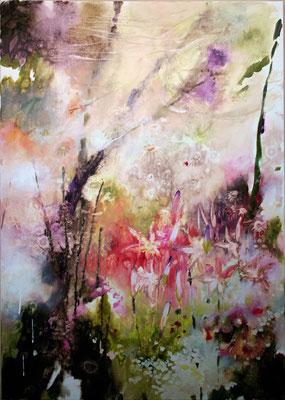 Il silenzio raggiante olio su tela cm 100 x 70 (1)