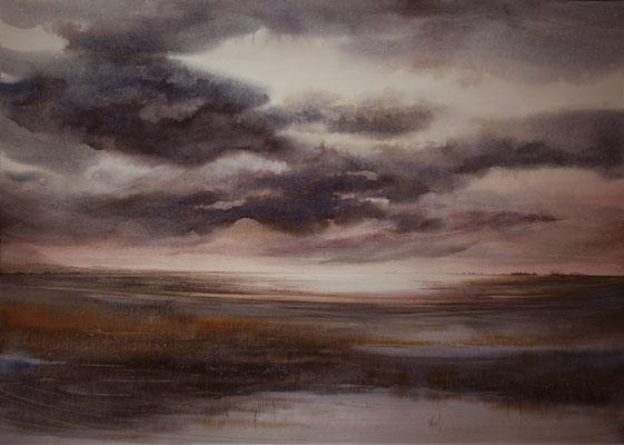 Nuvole in laguna 2 cm 55 x 73