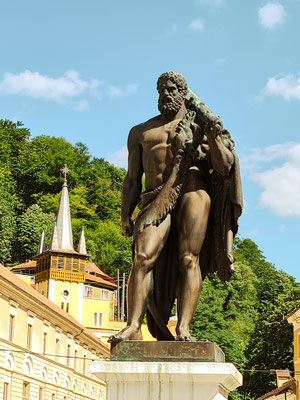Herkules Statue, Băile Herculane