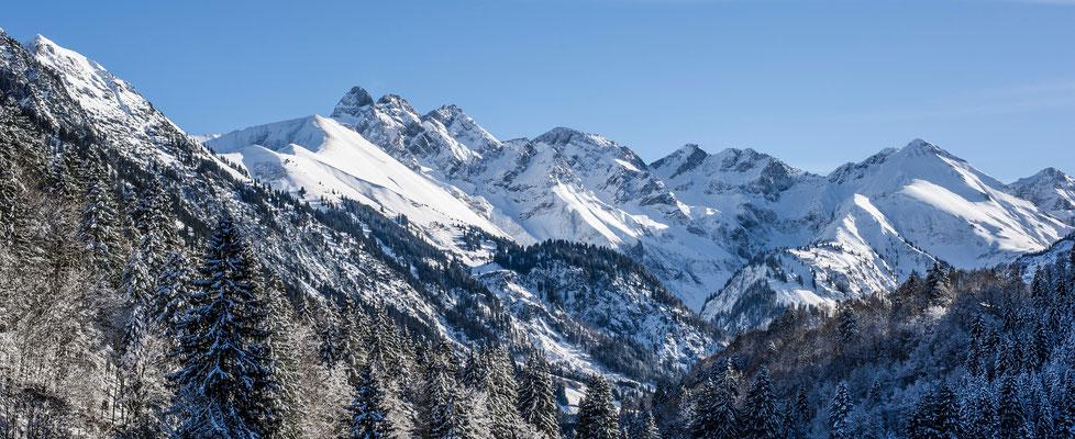 Trettachspitze, Mädelegabel, Hochfrottspitze
