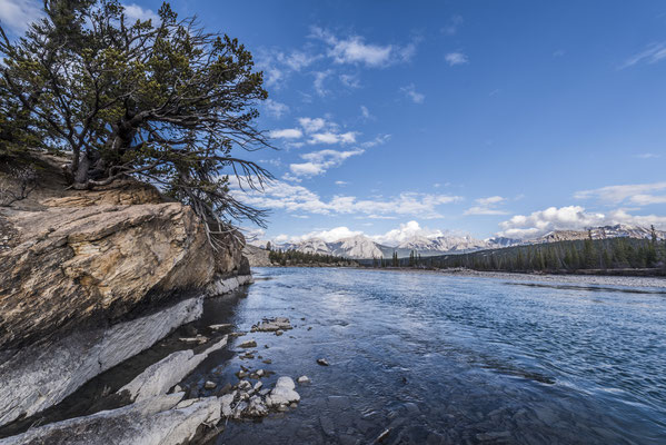 Whirlpool Point, Saskatchewan River