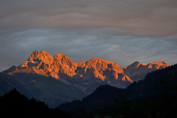 Trettach, Mädelegabel Hochfrottspitze